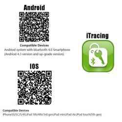 QR code scan scanner voor de iTracing app voor IOS en Android