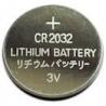 Platte CR2032 3V Lithium Knoopcel Batterij