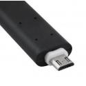 Flexibele en buigbare kabel van USB naar MicroUSB