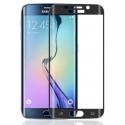 Zwarte bescherming van gehard glas voor de Samsung Galaxy S6 Edge