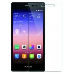 Bescherming van gehard glas voor de Huawei Ascend P7 tegen krassen op het scherm