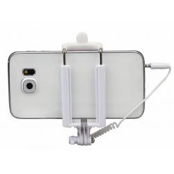 Uitschuifbare SelfieStick met goede houder grip voor de smartphone