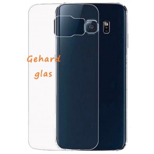 Glazen achterkant bescherming voor de Samsung Galaxy S6 Edge