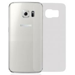 Kunststof bescherm folie voor de behuizing van de achterkant van de Samsung Galaxy S6 tegen krassen