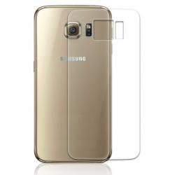 Achterkant bescherming van 9H gehard glas tegen krassen op de Samsung Galaxy S6