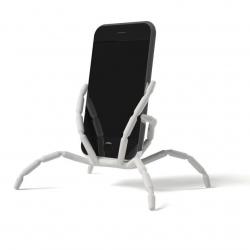 Witte buigbare standaard voor alle merken en type smartphones