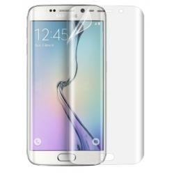 Gebogen kunststof folie screenprotector voor de Samsung Galaxy S6 Edge