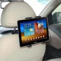 Houder voor de tablet voor in de auto voor aan de hoofdsteun