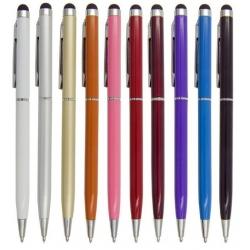 Stylus pen om het touchscreen scherm te bedienen maar waarmee ook echt geschreven kan worden met zwarte inkt