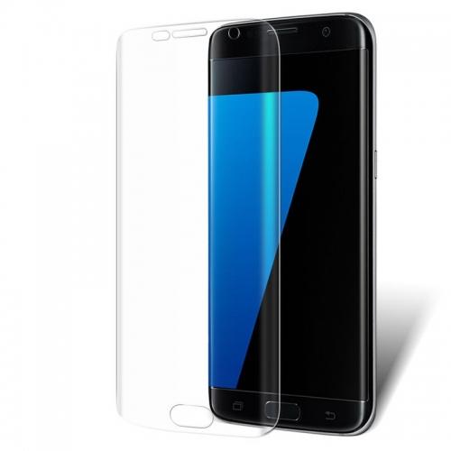 Screenprotector met ronde zijkanten voor de Samsung Galaxy S7 Edge