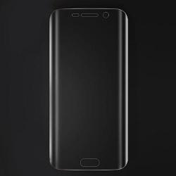 Scherm beschermings folie met ronde zjikanten voor de Samsung Galaxy S7 Edge