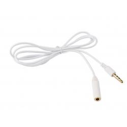 Verleng kabel voor smartphone tablet telefoon wit 1 meter iphone samsung galaxy s6 edge 6s plus