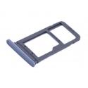 Vervangende blauwe SD SIM houder voor de Samsung Galaxy S7