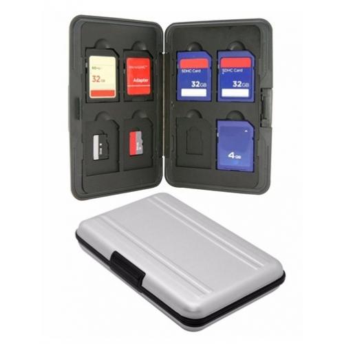 Bescherm box voor SD SDHC geheugen kaartjes
