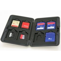 Opberg box voor al uw Micro SD, SD, SDXC en SDHC geheugen kaartjes