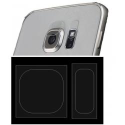 Beschermings plaatjes voor de lens en flitser voor de Samsung Galaxy S7