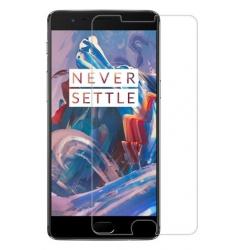 Screenprotector van gehard glas tegen krassen op het scherm van de OnePlus 3T