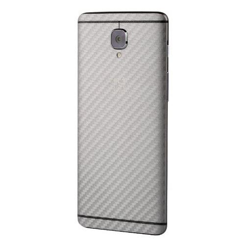 Onelus 3T en OnePlus 3 carbon look achterkant bescherming tegen krassen
