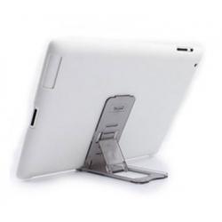 Standaard die handig inklapbaar is voor tablet PC's en smartphones