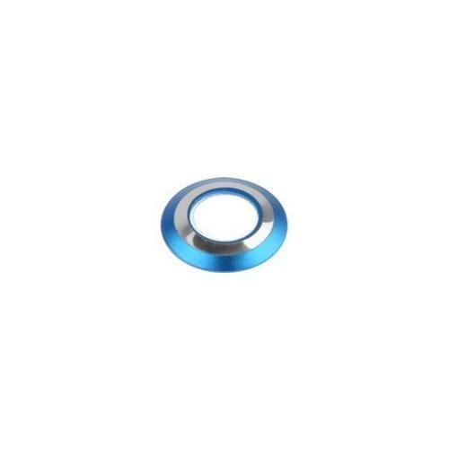 Blauw ringetje om de camera van de iPhone 7 te beschermen