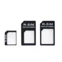 SIM kaart adapter set voor Micro SIM, Nano SIM of gewone SIMkaart