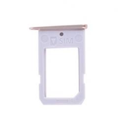 Gouden Platinum SIM kaart houder voor de Samsung Galaxy S6 Edge