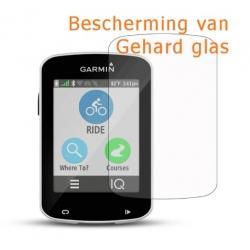 Krasbestendige screenprotector van gehard glas voor de Garmin Edge 820