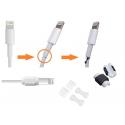 Kabel bescherming tegen knakken van de USB kabel