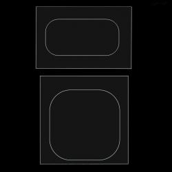 Achterkant camera en LED flitser bescherming voor de Samsung Galaxy S8 en S8 Plus