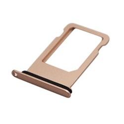 Vervangende goudkleurige SIMkaart tray houder voor de iPhone 8
