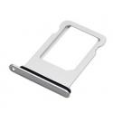 Zilverkleurige vervangende SIM kaart houder voor de iPhone 8