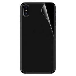 Achterkant bescherming voor de iPhone X tegen krasjes