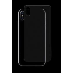 Achterkant bescherming voor de iPhone X tegen krassen