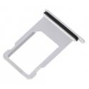 Vervangende SIMkaart houder voor de iPhone 7 in het zilver kleurig
