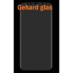Scherm bescherming met gebogen zijkanten van gehard glas voor de Samsung Galaxy S8