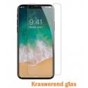 Harde kraswerende voorkant voor de iPhone X