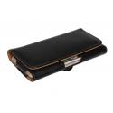 Hoesje voor de smartphone met magneetsluiting voor aan de broekriem
