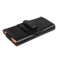 Riem hoesje voor de smartphone voor aan de broekriem met magneetsluiting