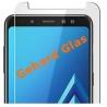 Krasbestendige screenprotector van glas voor de Samsung Galaxy A8
