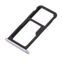 Vervangende zilver kleurige SIM kaart houder voor de Huawei P10 Lite