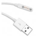 Magnetische USB oplaad kabel voor KW88 KW08 GV68 horloge